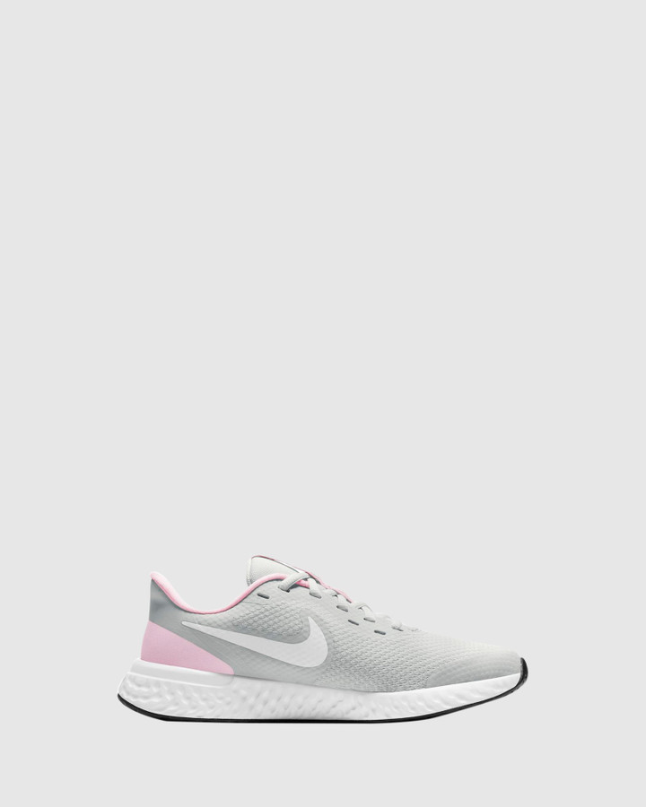 Shoes and Sox Revolution 5 Gs G Photon Dust/White/Pink Foam