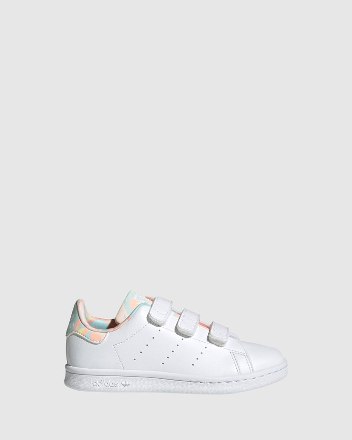 Shoes and Sox Stan Smith Sf Ps G White/Coral