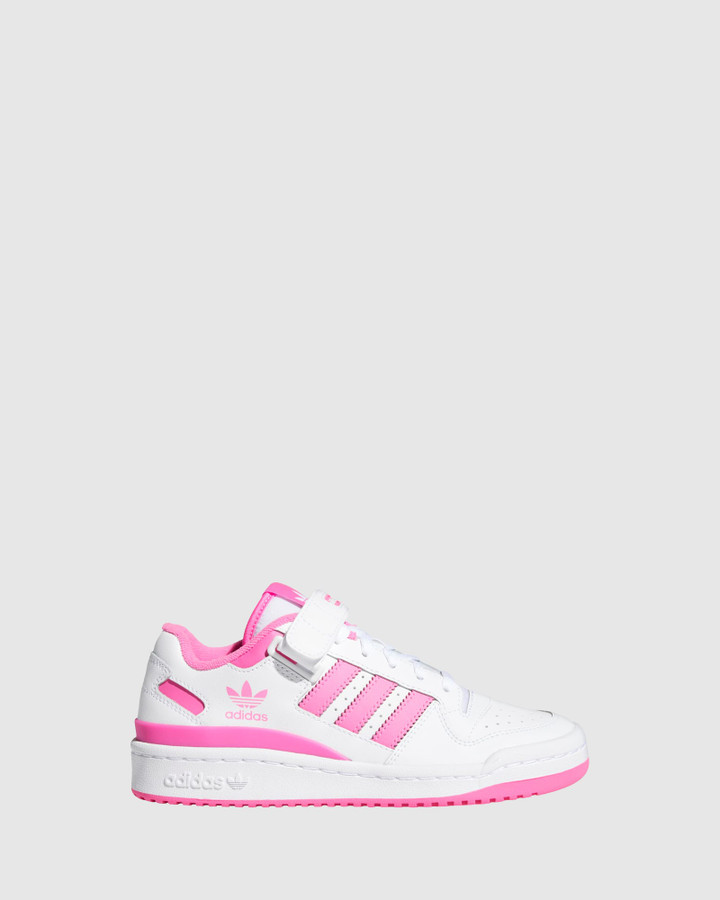 Shoes and Sox Forum Low Gs G White/Screaming Pink