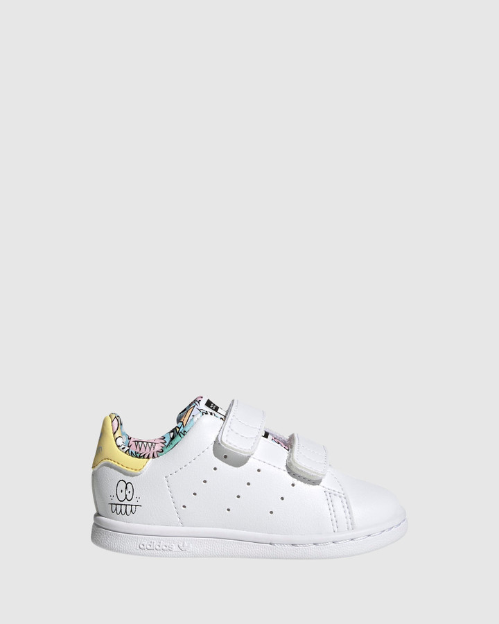 Shoes and Sox Stan Smith Sf Inf G White/Clear Sky