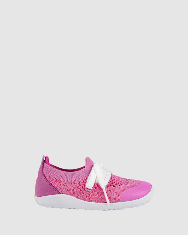 Shoes and Sox Iwalk Play Knit G Pink