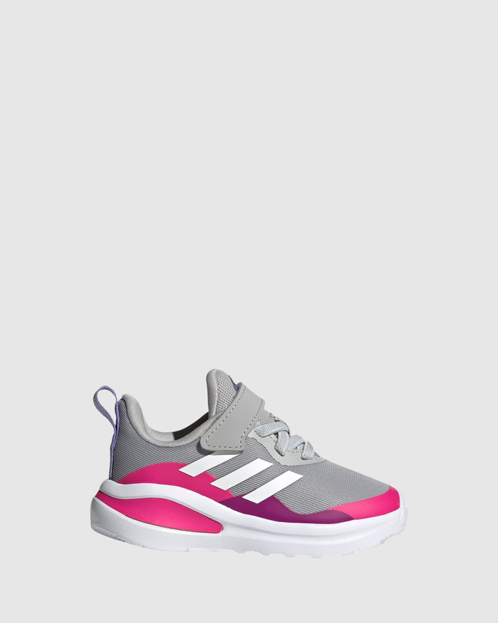 Shoes and Sox Fortarun El Inf G Grey/White/Pink