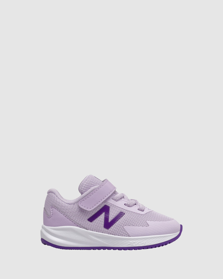 Shoes and Sox 611 Sf Strap Inf G Lilac