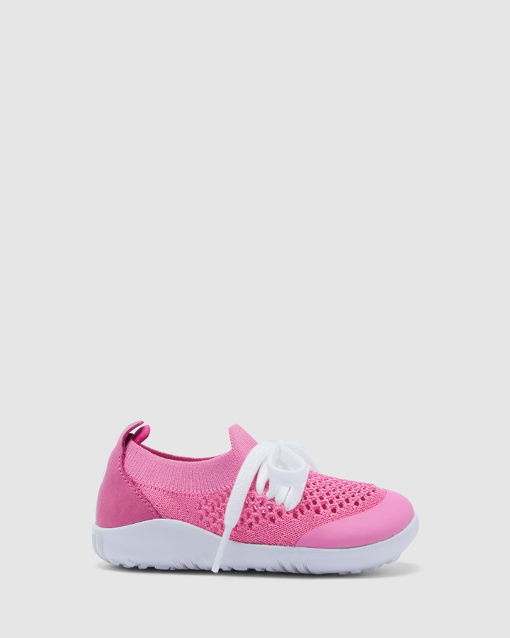 Shoes and Sox Step Up Play Knit G Pink