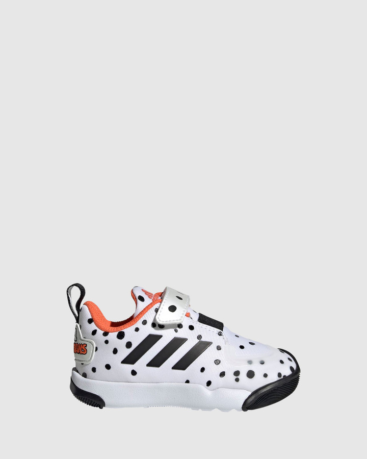Shoes and Sox Activeplay Cruella Inf G White/Black/Orange