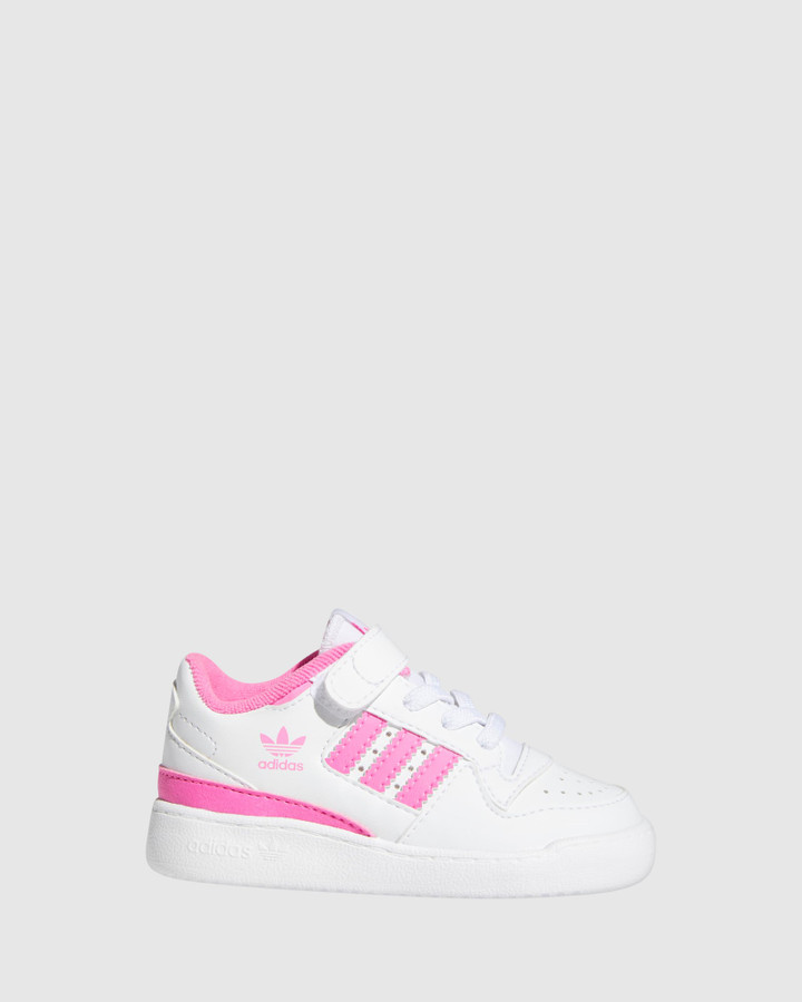Shoes and Sox Forum Low Sf Inf G White/Screaming Pink