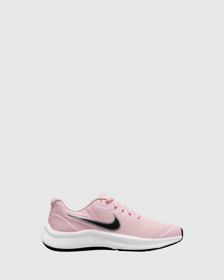 Shoes and Sox Star Runner 3 Gs G Pink Foam/Black