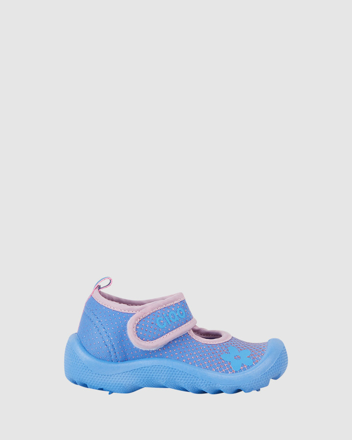 Shoes and Sox Beach Glitter Flower G Lilac/Pink