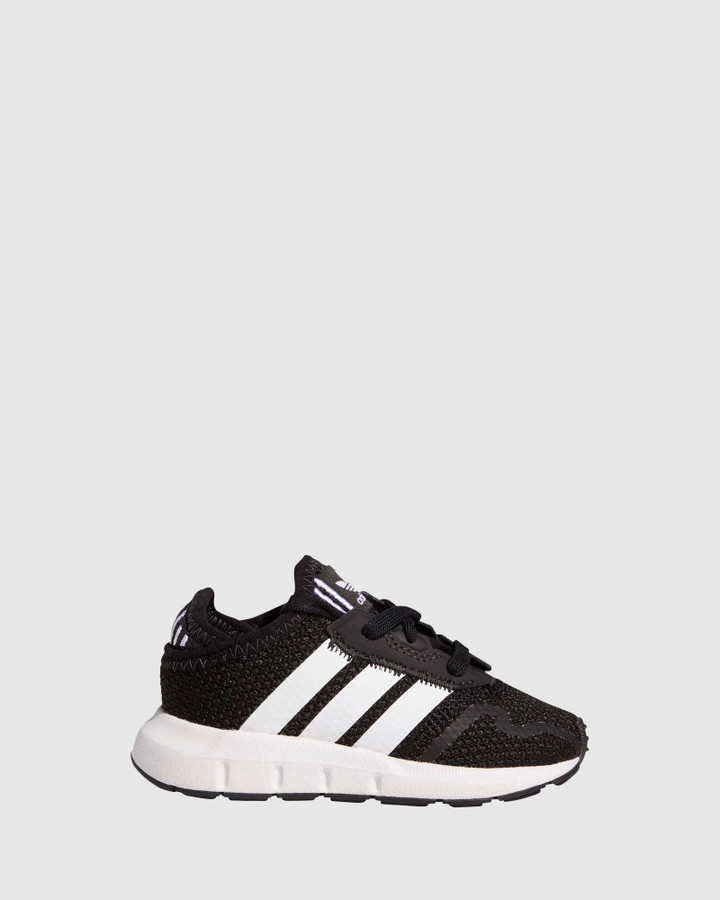 Shoes and Sox Swift Run X Inf B Black/White