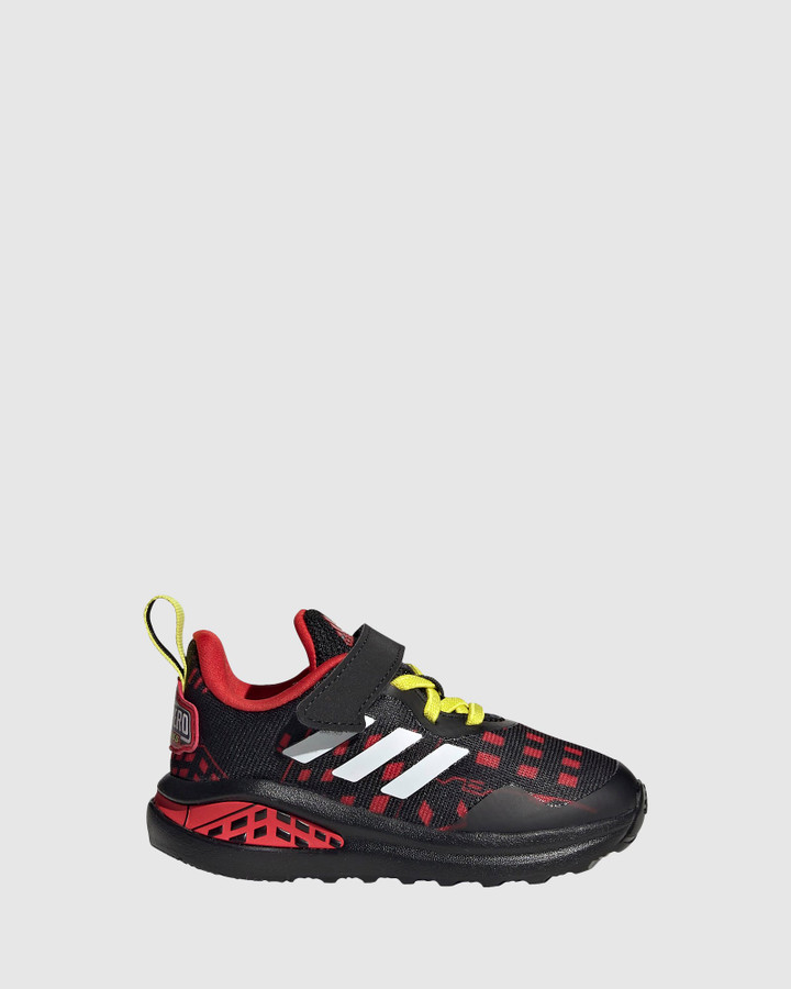 Shoes and Sox Fortarun Superhero Inf B Black/White/Red