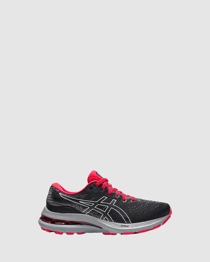 Shoes and Sox Gel Kayano 28 Gs B Black/White