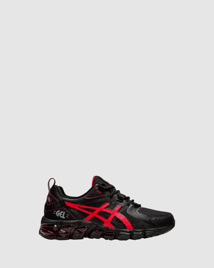 Shoes and Sox Gel Quantum 180 Gs B Black/Electric Red