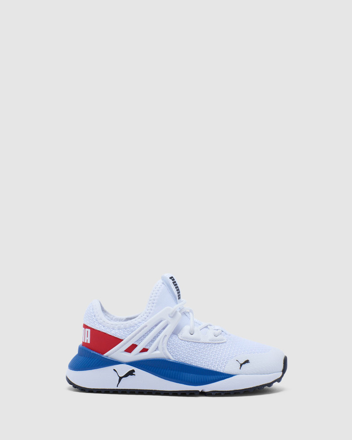 Shoes and Sox Pacer Future Ps B White/Red