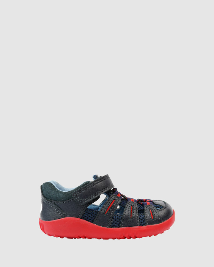 Shoes and Sox Step Up Summit B Navy/Red