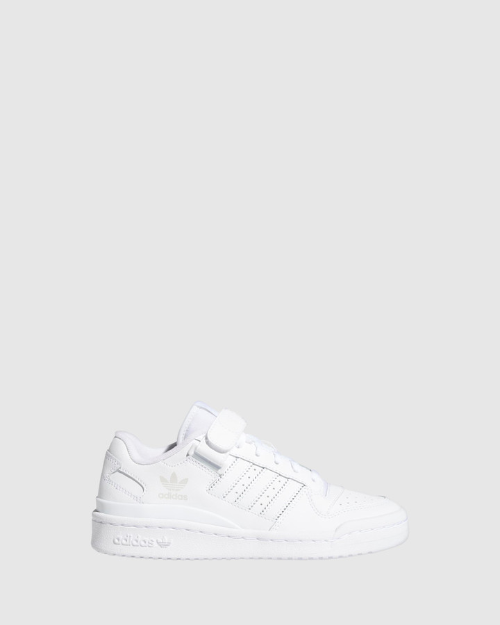 Shoes and Sox Forum Low Gs B White/White