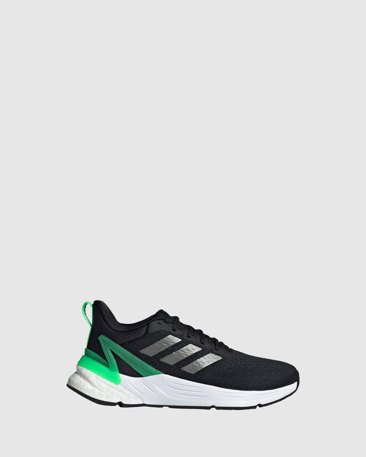 Shoes and Sox Response Super 2.0 Gs B Black/Screaming Green