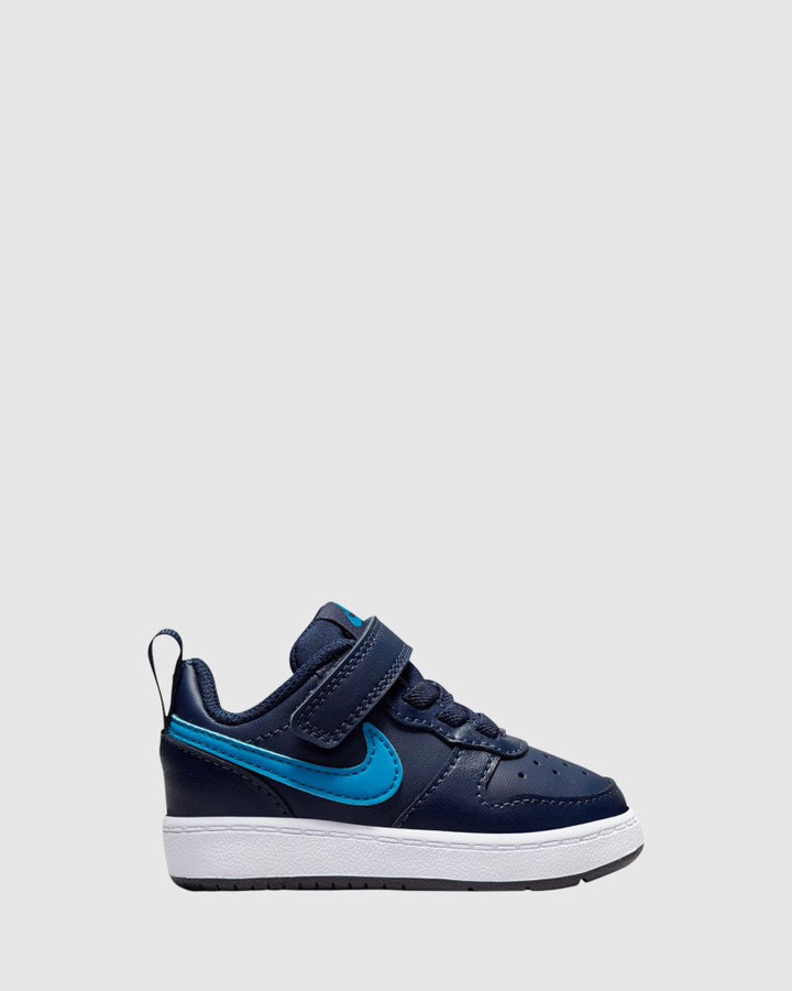 Shoes and Sox Court Borough Low 2 Inf B Midnight Navy/Imperial Blue