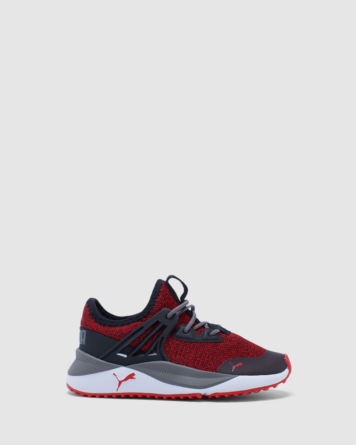 Shoes and Sox Pacer Future Ps B Red/Black