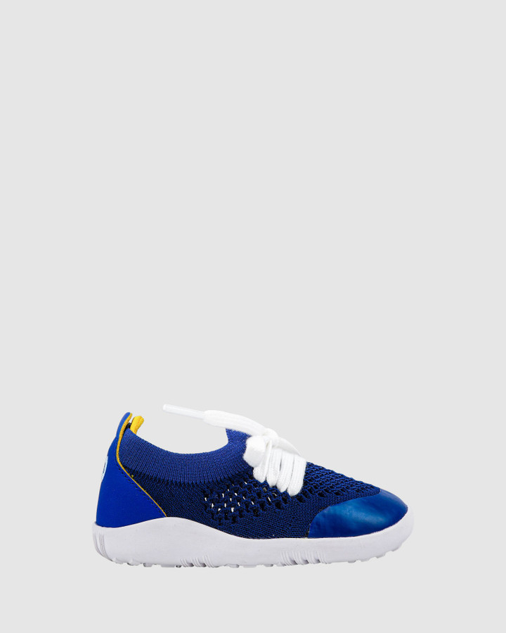 Shoes and Sox Step Up Play Knit B Blueberry
