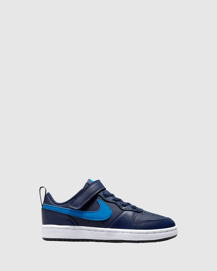 Shoes and Sox Court Borough Low 2 Ps B Midnight Navy/Imperial Blue
