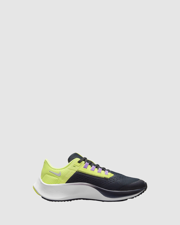 Shoes and Sox Air Zoom Pegasus 38 Gs B Particle Grey/White/Midnight