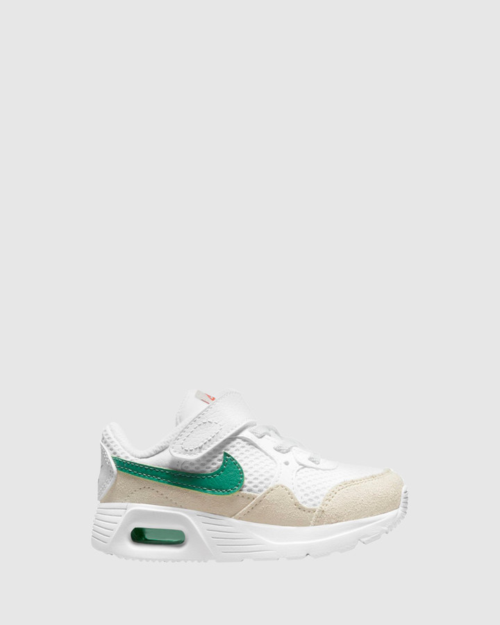 Shoes and Sox Air Max Sc Inf B White/Green Noise
