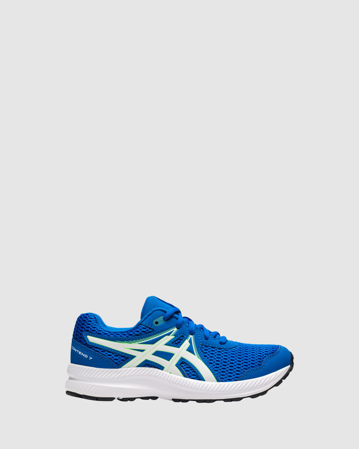 Shoes and Sox Contend 7 Gs B Electric Blue/White