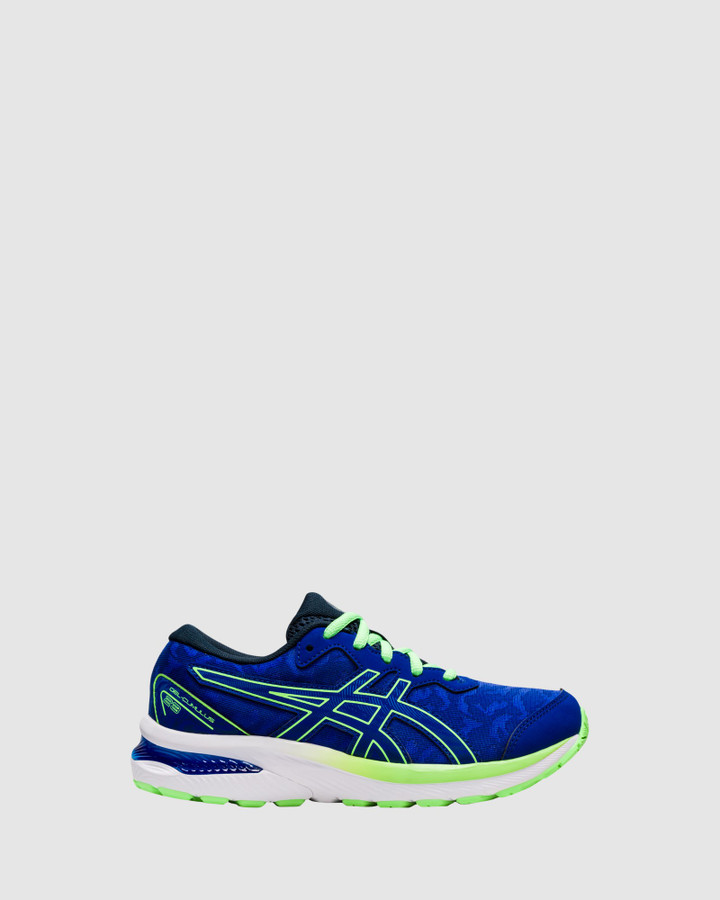 Shoes and Sox Gel Cumulus 23 Gs B Mako Blue/Lime