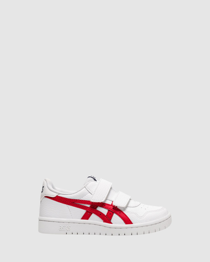 Shoes and Sox Japan S Ps B White/Classic Red