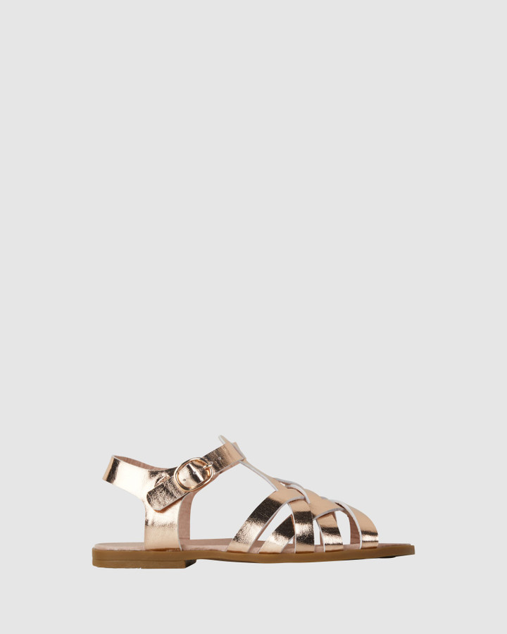 Shoes and Sox Corrine Rose Gold