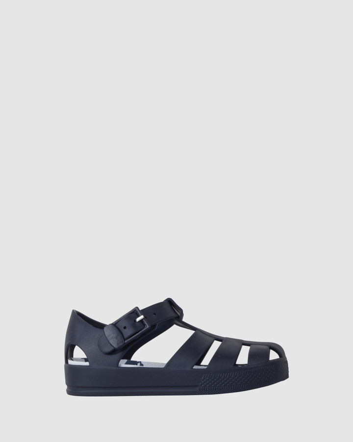 Shoes and Sox Kiddo Crab Jellies Navy