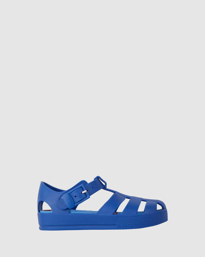 Shoes and Sox Kiddo Crab Jellies Cobalt