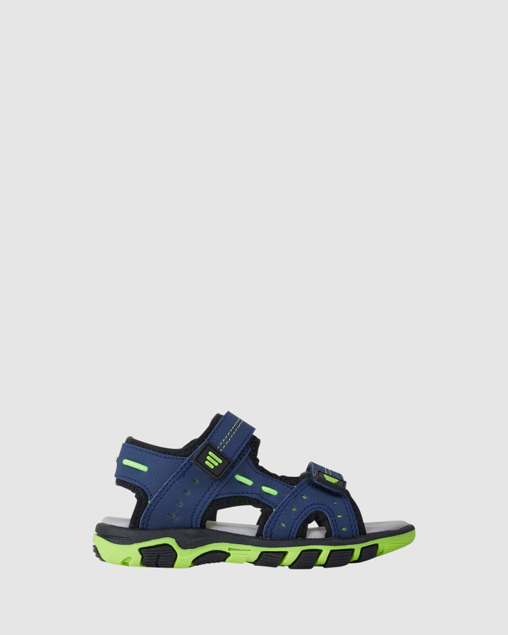 Shoes and Sox Chace Blue/Lime