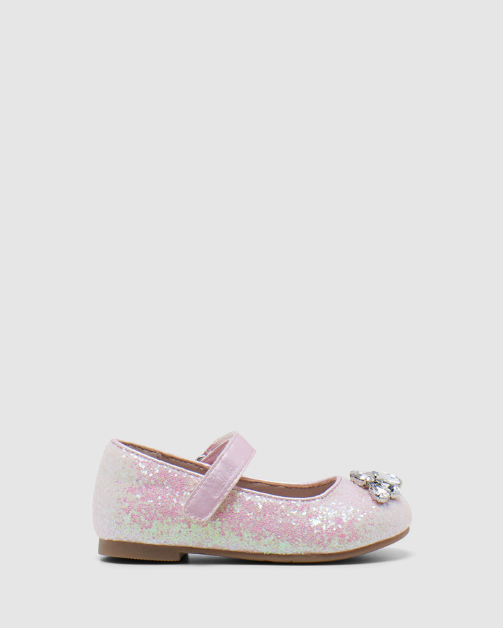 Shoes and Sox Adele Jnr Pale Pink