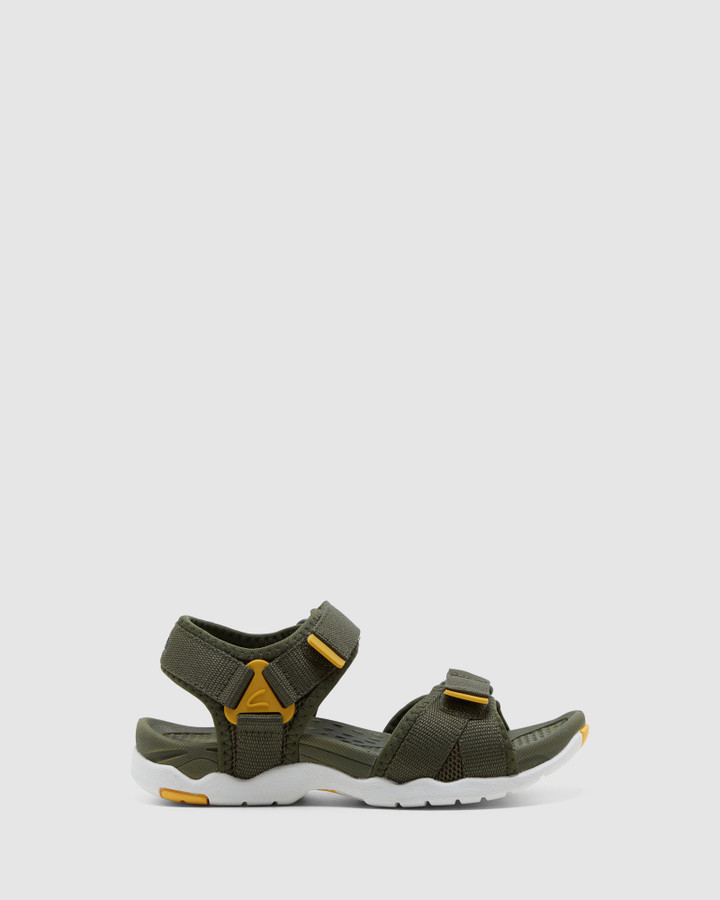 Shoes and Sox Theo Khaki/Mustard