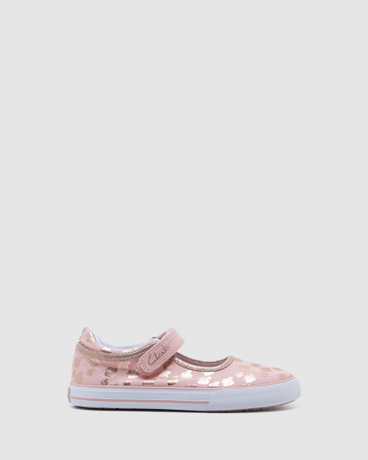 Shoes and Sox Lizzie Musk/Rose Gold Butterfly