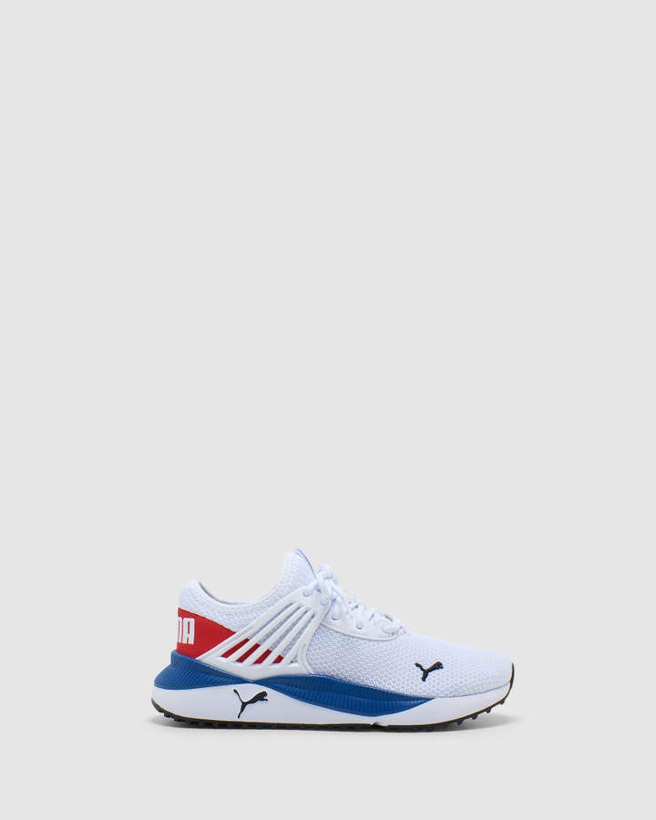 Shoes and Sox Pacer Future Gs B White/Red