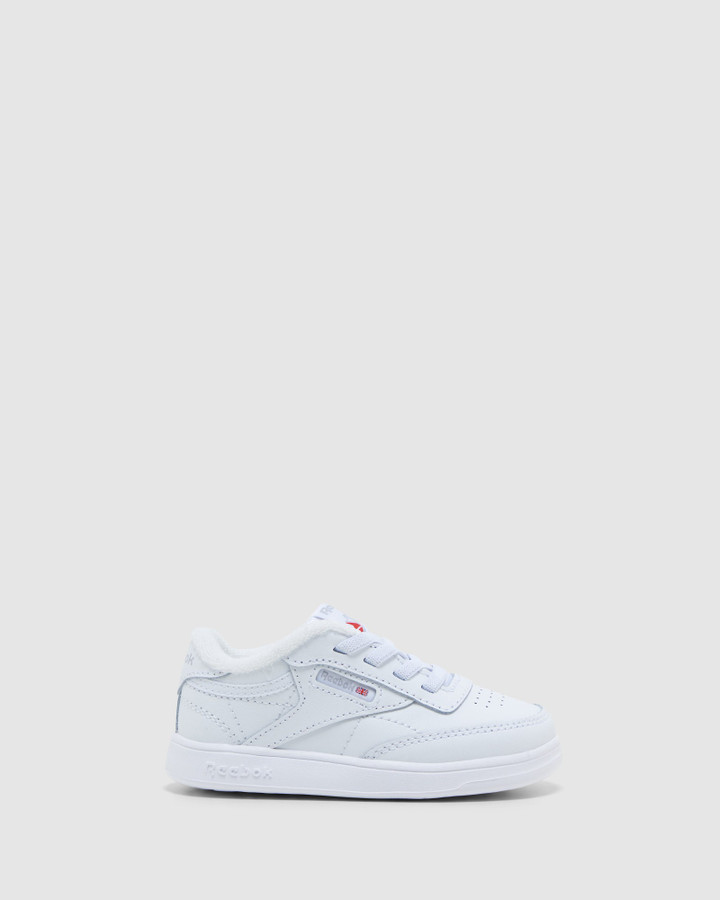 Shoes and Sox Club C Inf White/White