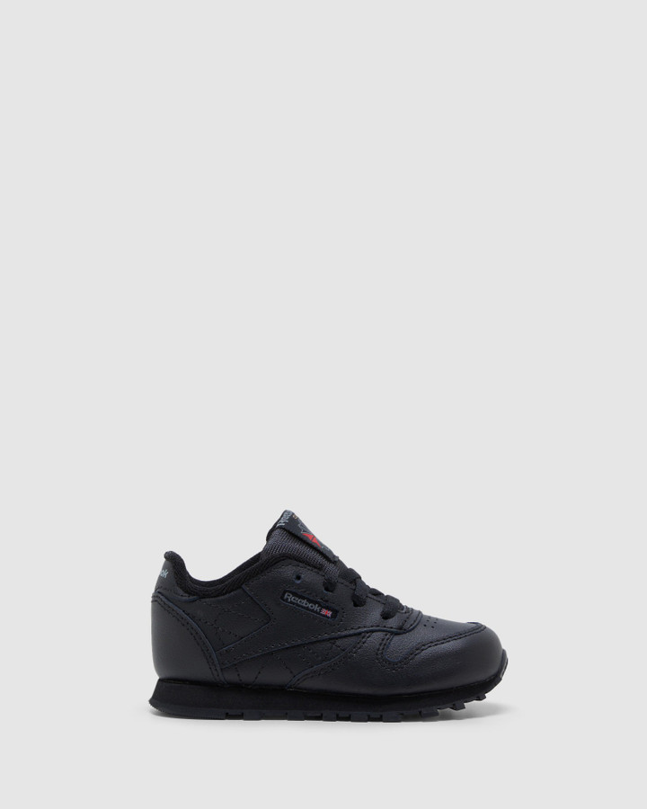Shoes and Sox Classic Leather Inf Black