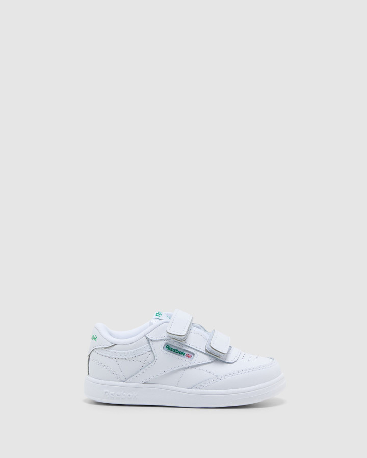 Shoes and Sox Club C 2 V Inf White/Green