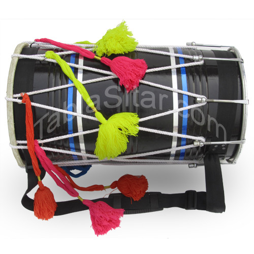 buy black straight dhol