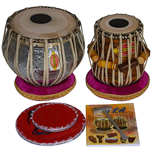 Mukta Das Ganesha Chrome Tabla Set 4kg