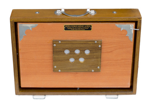 MAHARAJA MUSICALS Concert Shruti Box, Natural Color - No. 172 (With Bag)