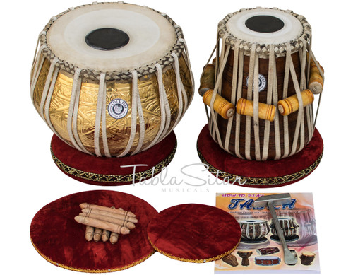 Golden Design Brass Tabla Set 3.5kg