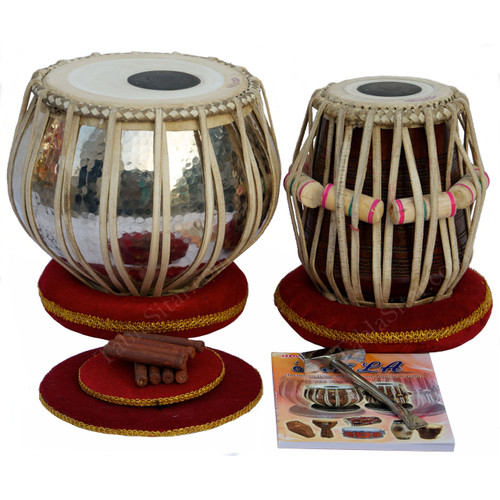 buy AKBAR MIAN & BROS™ Standard Tabla Set , 3.5 KG Copper Bayan for sale