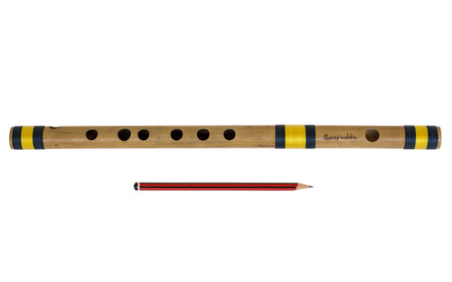 buy Sarfuddin Flutes Concert, Scale F Natural Medium 14 inches, FINEST Indian Bansuri, Bamboo Flute, Hindustani for sale