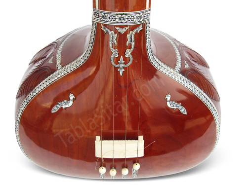 MKS Tanpura, Female, 4 Strings - No. 220 (Natural Tambura)