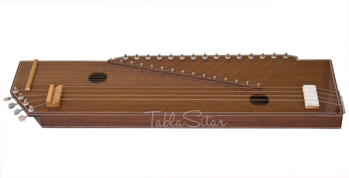 MKS Sur Tanpura, Male, 4 Strings, Natural, Fiber Trolly