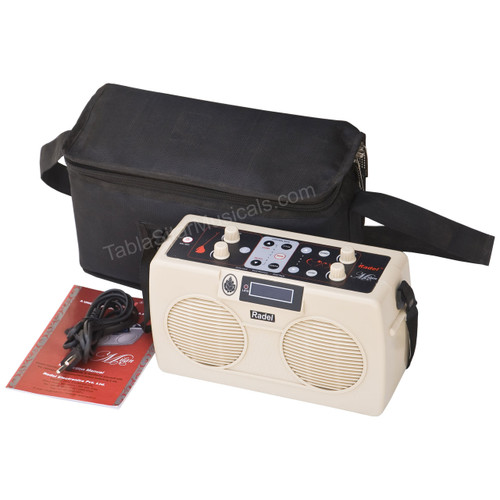 RADEL Milan Tabla + Tanpura ( 2-in-1) , Concert, 3 Yr Warranty - No. 496
