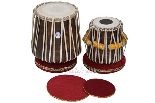 MAHARAJA MUSICALS Dhama Jori, Sheesham Wood Dhama, Sheesham Wood Dayan - Tabla No. 529